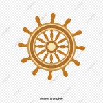 Ship Steering Wheel Rudder Wood Article Png And Vector With Transparent Background For Free Download