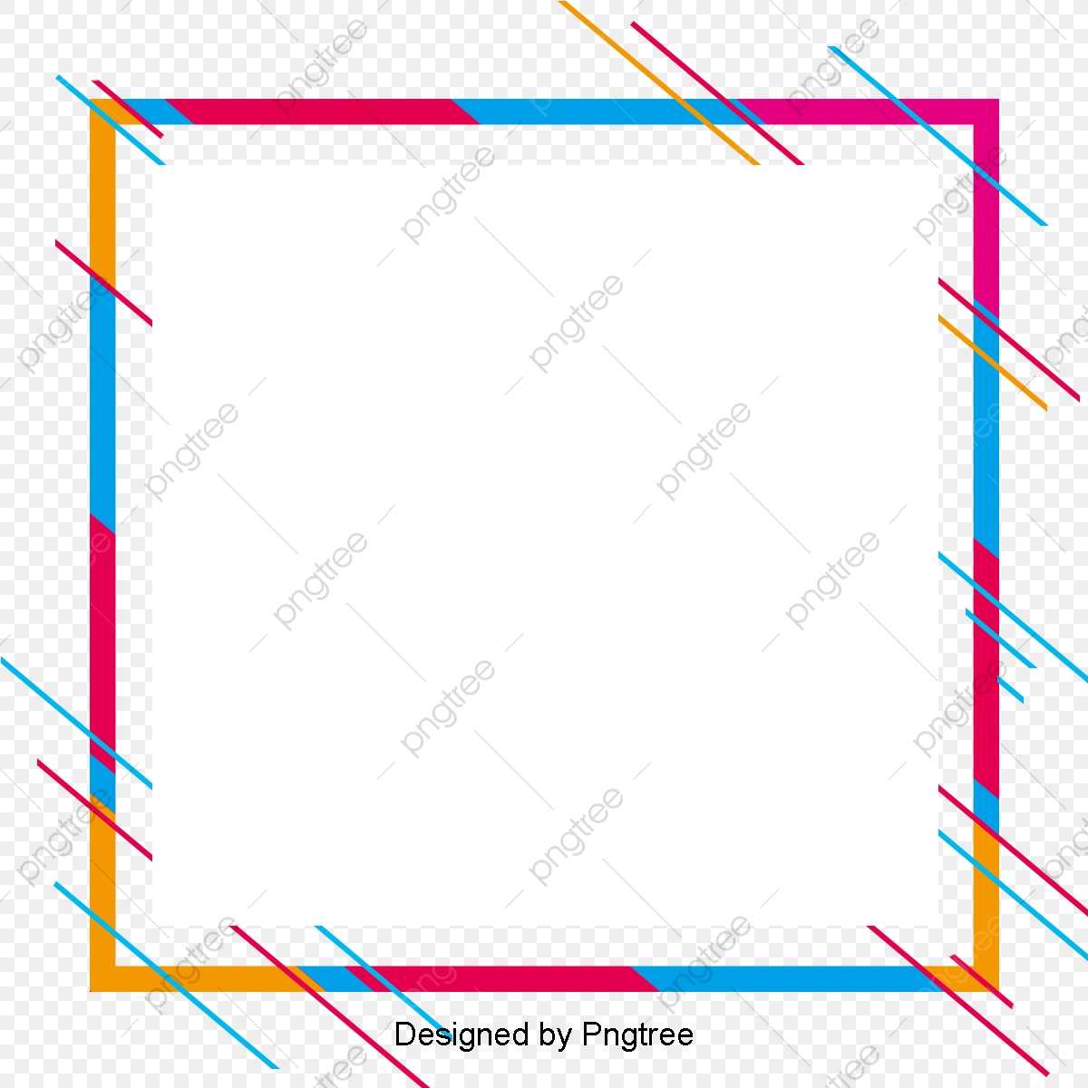 Stylish And Simple Border Design Line Borders Color Clipart Png Transparent Clipart Image And Psd File For Free Download