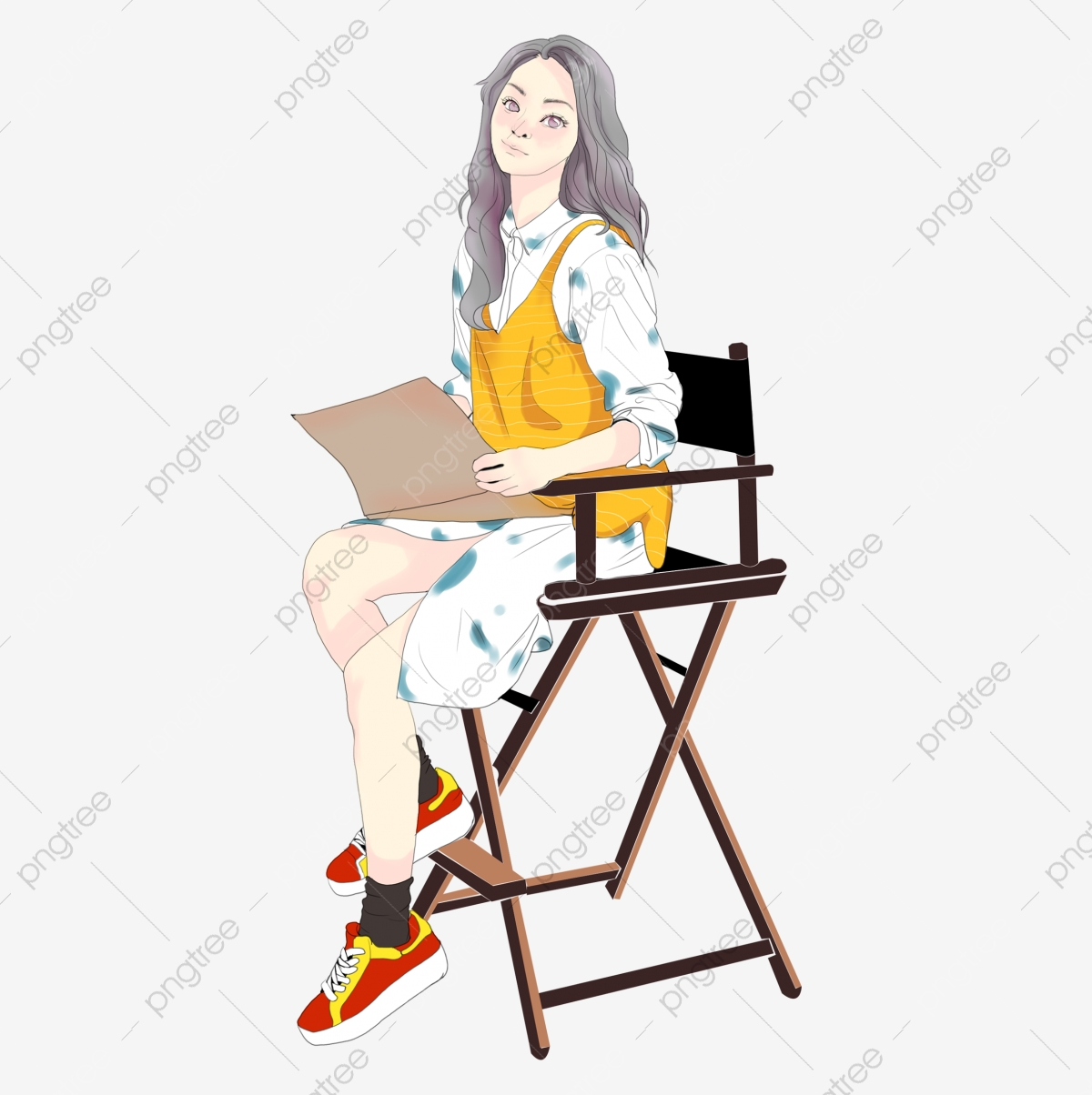 https fr pngtree com freepng beauty illustration man sitting in a chair reading a newspaper sitting person illustration 3954847 html