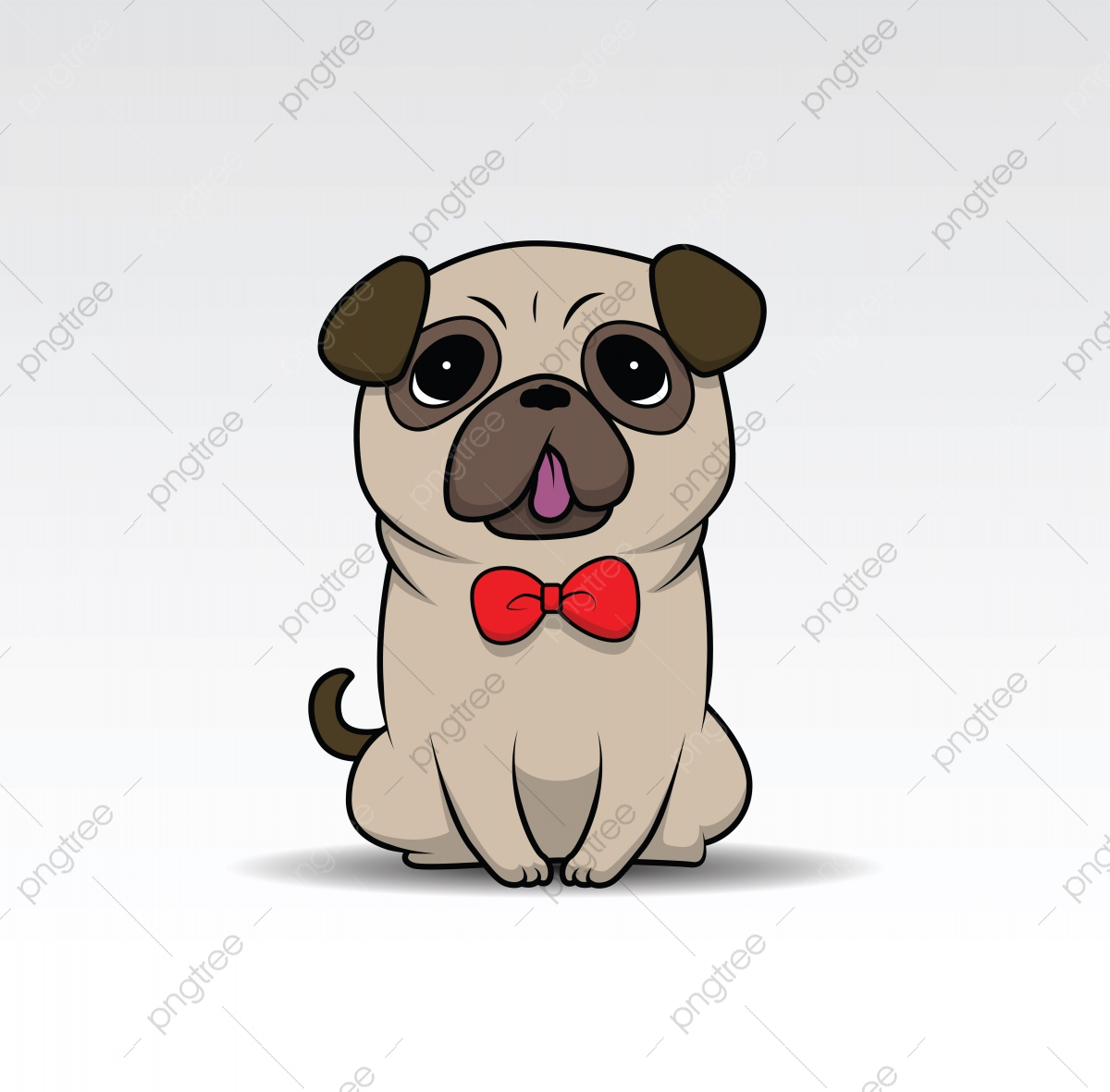 Cute Cartoon Dog Puppy For Design Element Cartoon Dog Adorable Png And Vector With Transparent Background For Free Download