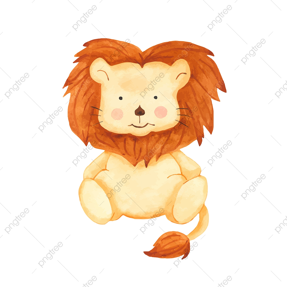 Cartoon Lion Png Images Vector And Psd Files Free Download On Pngtree