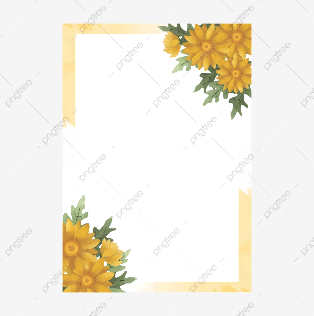 https pngtree com freepng sunflower style watercolor wedding invitation card template 5225436 html