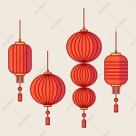 Chinese Lantern Vector Chinese China Golden Png And Vector With Transparent Background For Free Download