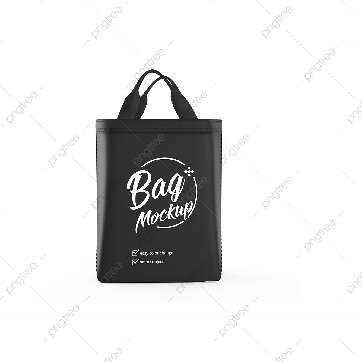 Change the artwork (smart layer) and background color in this layered psd. Mockups Bag Png Images Vector And Psd Files Free Download On Pngtree