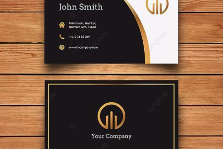 black and gold business card Template for Free Download on Pngtree black and gold business card Template