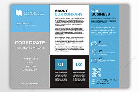 corporate trifold template Template for Free Download on Pngtree corporate trifold template Template