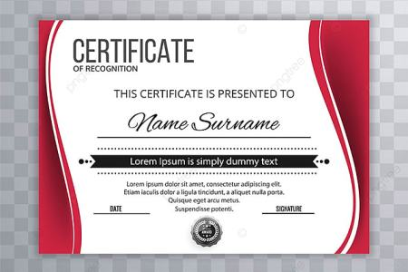 Abstract creative certificate of appreciation award template     Abstract creative certificate of appreciation award template Template