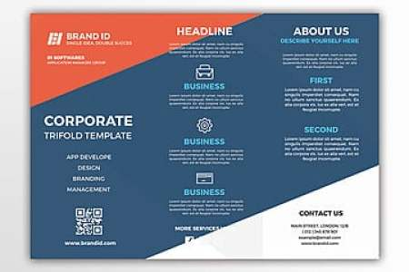 Trifold Brochure Png  Vectors  PSD  and Clipart for Free Download     corporate trifold brochure template  Brochure  Trifold  Template PNG and PSD