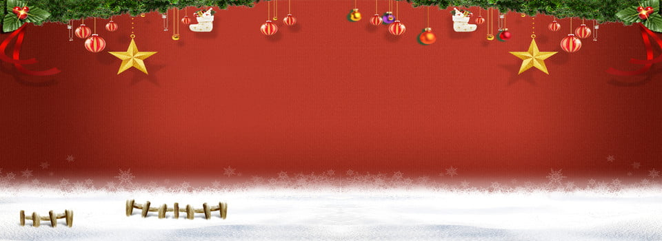 Christmas Banner Christmas Santa Claus Background Image