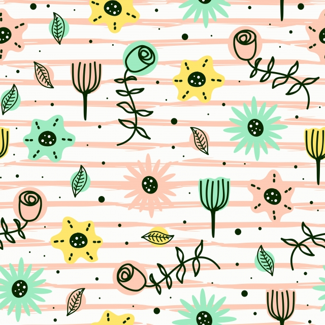 https fr pngtree com freebackground cute flowers seamless pattern scandinavian childish drawing style with pastel colors background 1154829 html