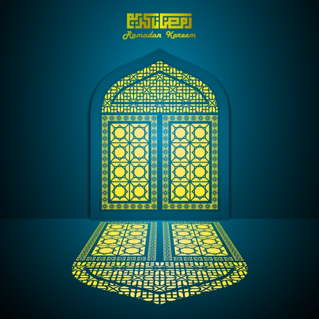 Islamic Background Mandala Mosque Gold Background Image For Free Download