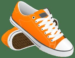 Оранжевые кеды - Png картинки и иконки без фона