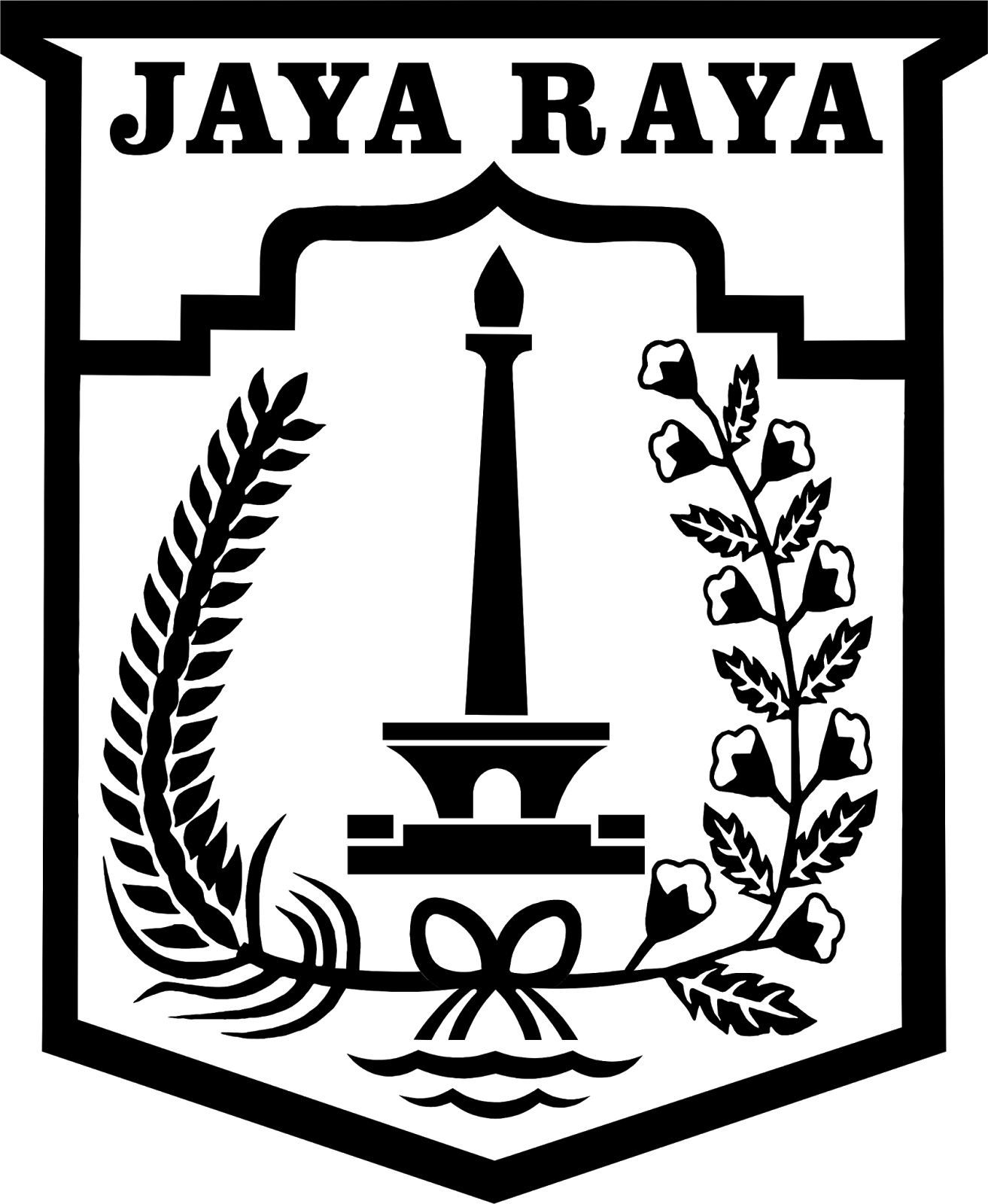 Jaya Raya Png : Jakarta, Official, Broadcast, Youtube, Download, Vector, In.eps, Format.