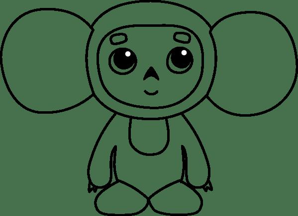 Cheburashka PNG