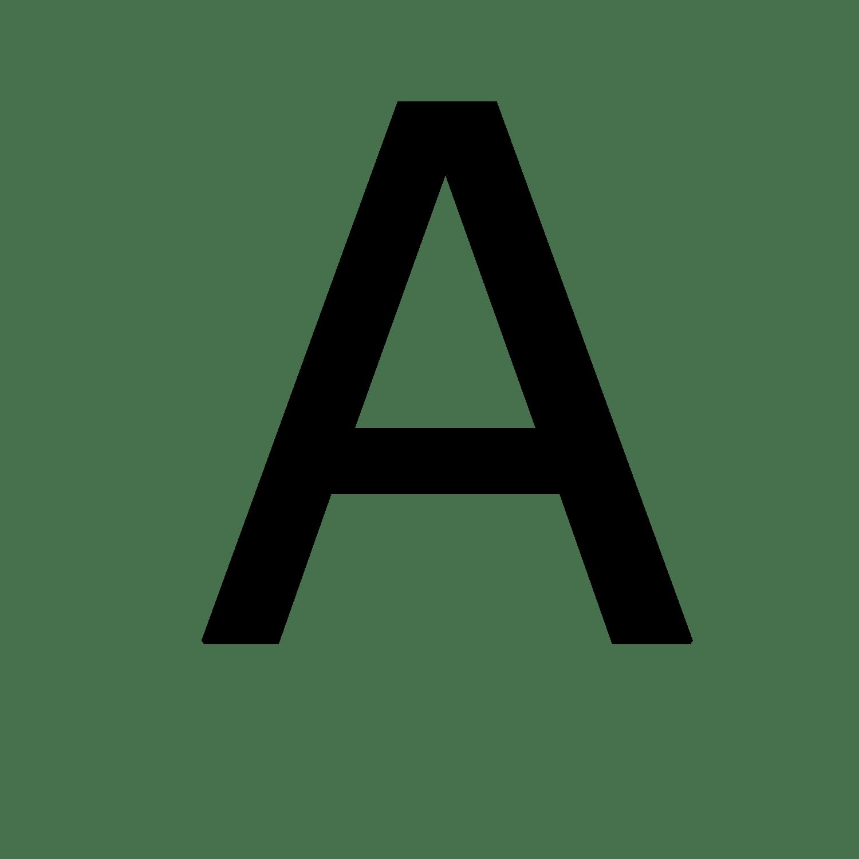 Resultado de imagem para a letter png