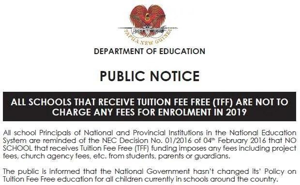TFF press release