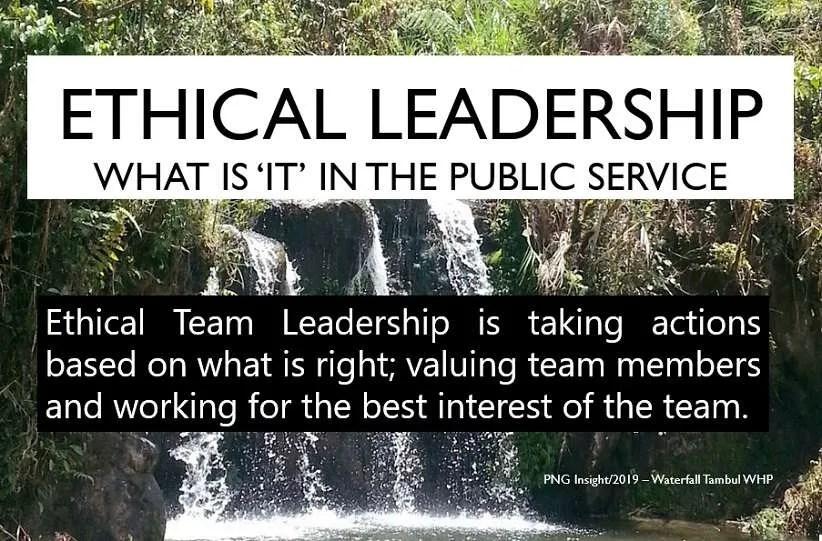 Ethical Leadership Dynamic Teams Key for Education Development
