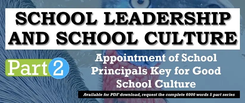 Provincial Education Leaders and Good School Culture in PNG