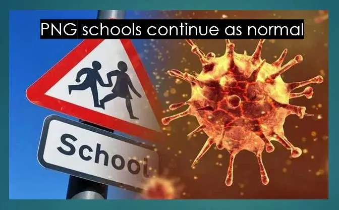 Read more about the article Will PNG schools close because of coronavirus?