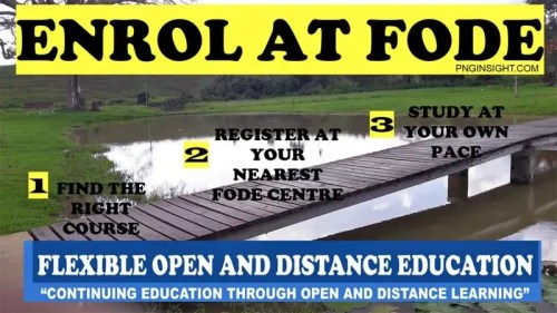 FODE Flexible Open and Distance Education