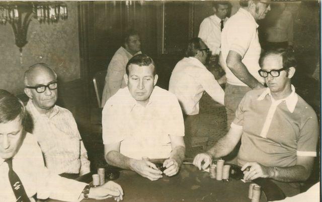 Johnny Moss, Jack Strauss and Bob Hooks