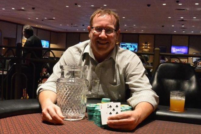 2017 Seneca Fall Poker Classic Champion Guy Klass