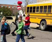 South Bosque Students Participate in Read Across America Event