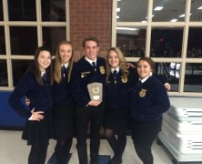 FFA Leadership Teams Compete at State