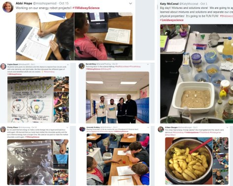 #1MidwayScience Tweets of the Month – October 2018