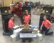 Tractor Tech Team Places 3rd at Houston Livestock Show
