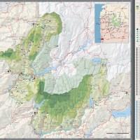 Mapa Do Parque Nacional