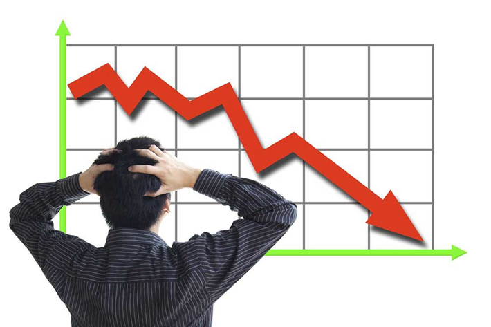 थामिएन शेयर बजार: दोहोरो अङ्कले घट्यो