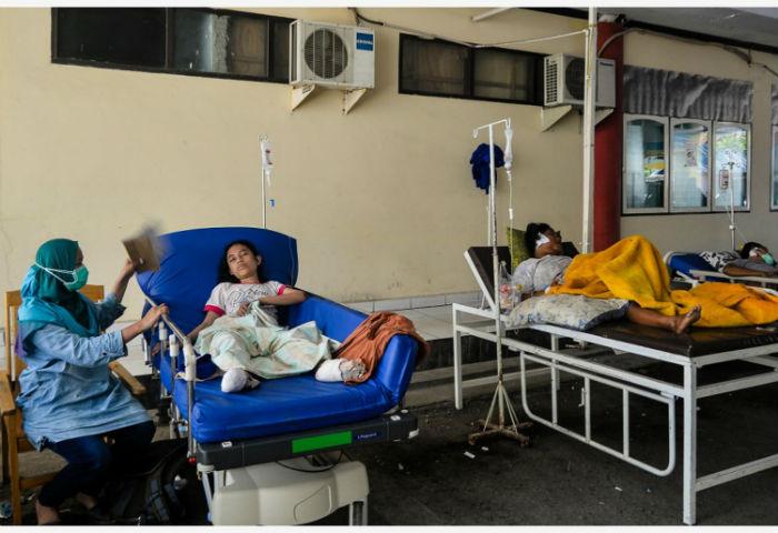 भूकम्प र सुनामीमा परी ज्यान जानेको सङ्ख्या १ हजार २३४ पुग्यो