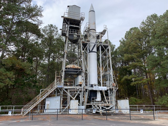 Redstone Test Stand - U.S. Space and Rocket Center - Huntsville, AL