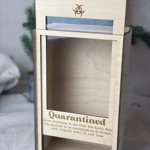 Elf Quarantine Isolation box (box only)