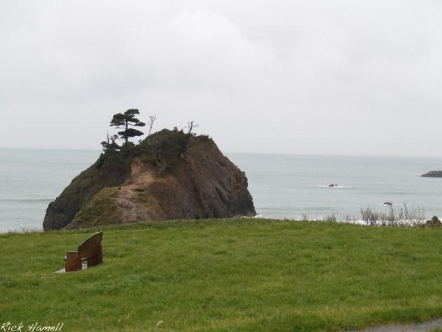Battle Rock, Oregon