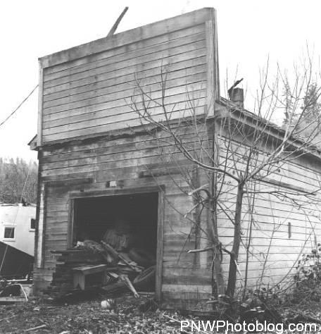 Abandoned Garage - 1961