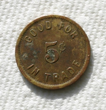 Token from Westfall 2 reverse