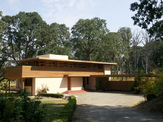Oregon's only Frank Lloyd Wright house