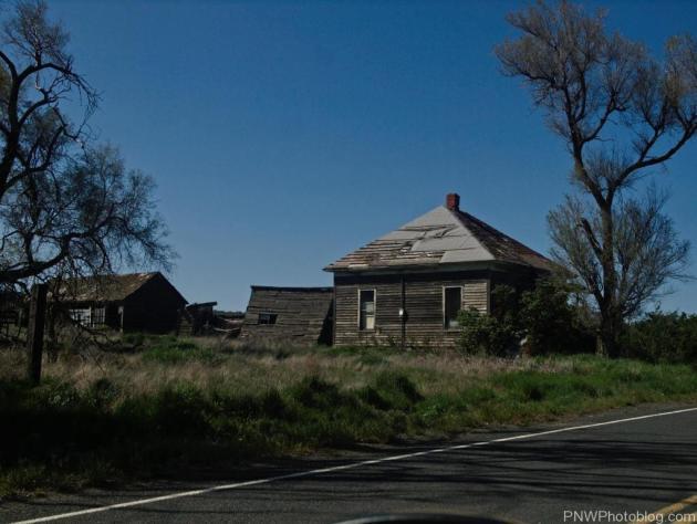 Ghost town of Govan Washington