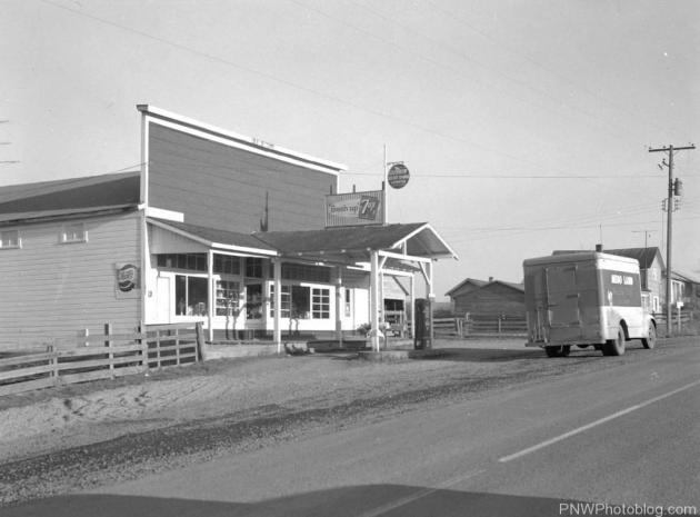 Airlie General Store and Gas Station - 1963