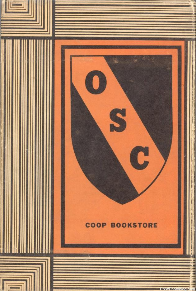 Oregon State College book cover back