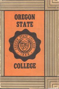 Oregon State College book cover front