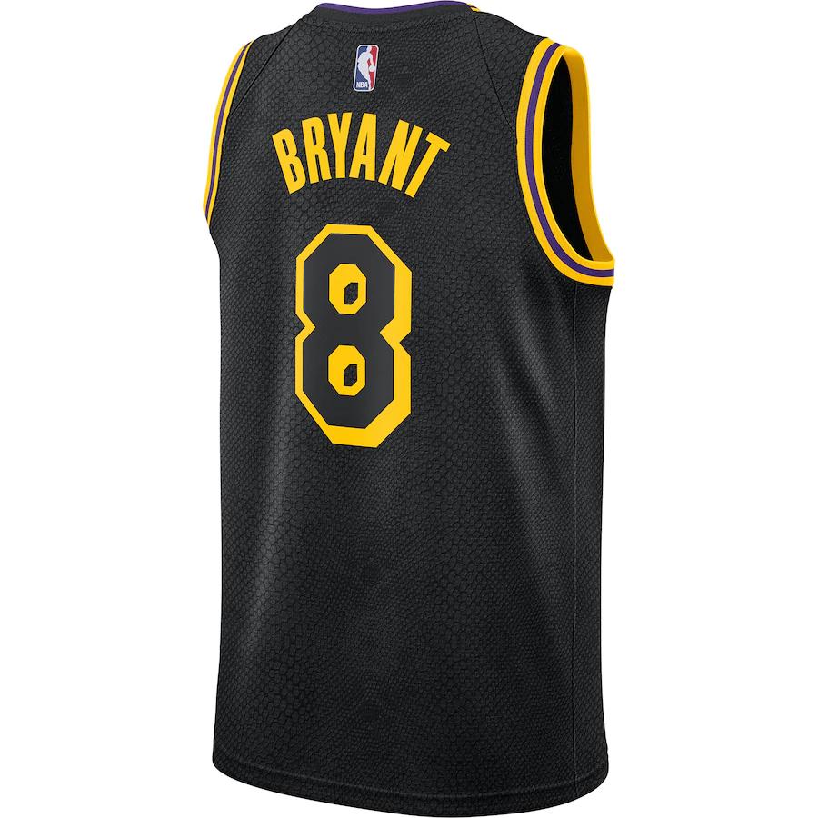 Nike Los Angeles Lakers Kobe Bryant Swingman #8 City Edition Men's ...