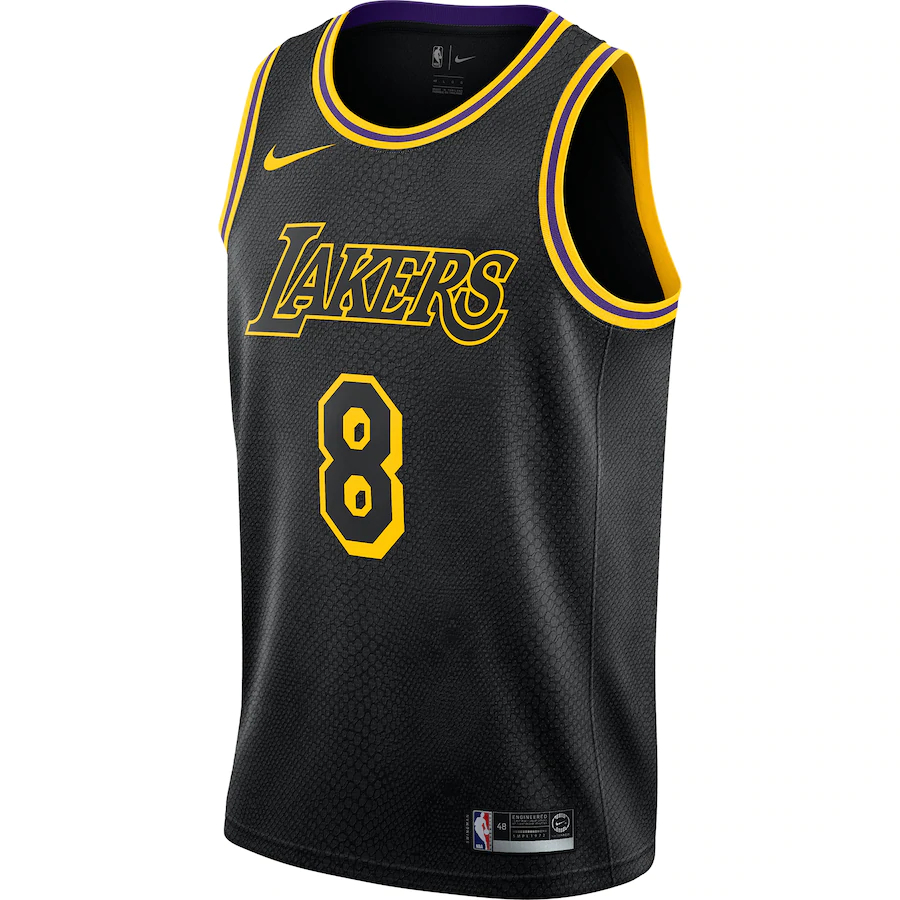 Nike Los Angeles Lakers Kobe Bryant Swingman 8 City Edition Men S Jersey Pnw Sports Apparel
