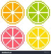 stock-vector-bit-pixel-art-citrus-fruit-slices-orange-lime-grapefruit-lemon-seamless-background-tile-169721978