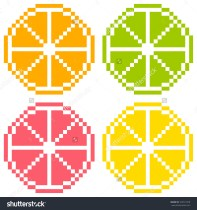 stock-vector-bit-pixel-art-citrus-fruit-slices-orange-lime-grapefruit-lemon-seamless-background-tile-169721978