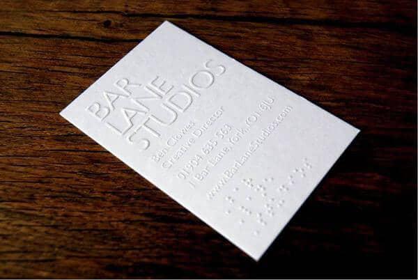打凸打凹名片設計推薦作品案例   名片設計服務團隊 - 博凱設計