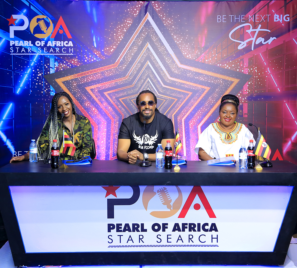 Talent Africa's Pearl Of Africa Star Search Birthes Joint EP Between Contestants & Mentors 1 MUGIBSON