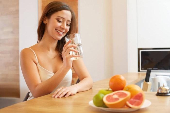Пить воду перед едой